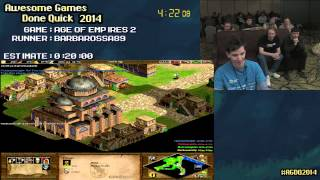 [AGDQ 2014] Age of Empires 2 Speedrun by Barbarossa89