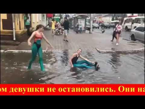Женский день ВДВ: буги-вуги в лужах Калуги!