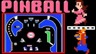 Pinball (FC/NES)