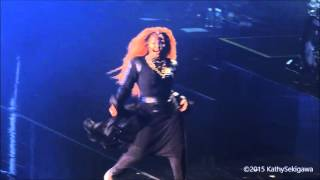 Janet Jackson in Concert -   Black Cat, If, Scream - Blaisdell Arena, Honolulu 11-15-15
