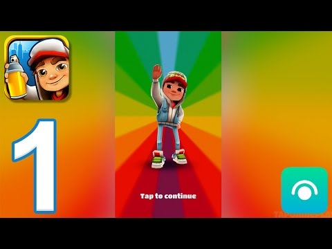 Subway Surfers - Gameplay Walkthrough Part 1 - Jake (iOS, Android)