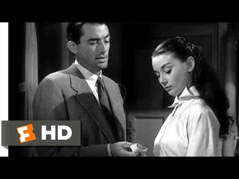 Roman Holiday (7/10) Movie CLIP - Alone With a Man (1953) HD
