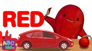 Color Song Red CoCoMelon Nursery Rhymes Kids Songs