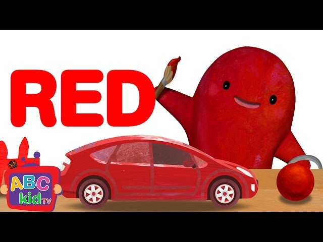Color Song - Red | CoCoMelon Nursery Rhymes & Kids Songs
