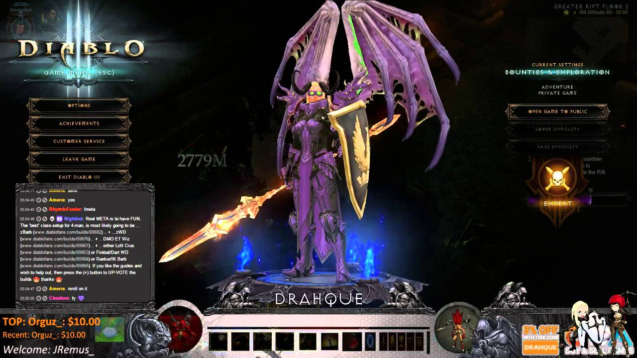 Diablo  Top Build Croise