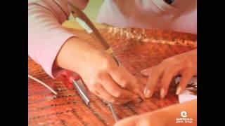 taller de afelpado del centro de las artes de san agustn procesos