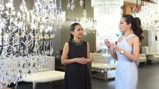 แพรว The Jet Set วันที่ 14 มิถุนายน 2558 (2/5) Crystal Chandeliers จาก Estella AMARIN TV HD ช่อง 34