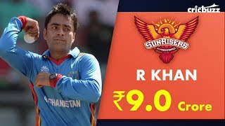 Sunrisers Hyderabad use RTM for Rashid Khan