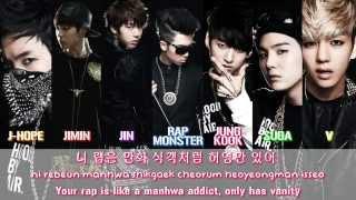 BTS (방탄소년단) - We Are Bulletproof Pt1 4 BEGINS [Lyrics Han|Rom|Eng]