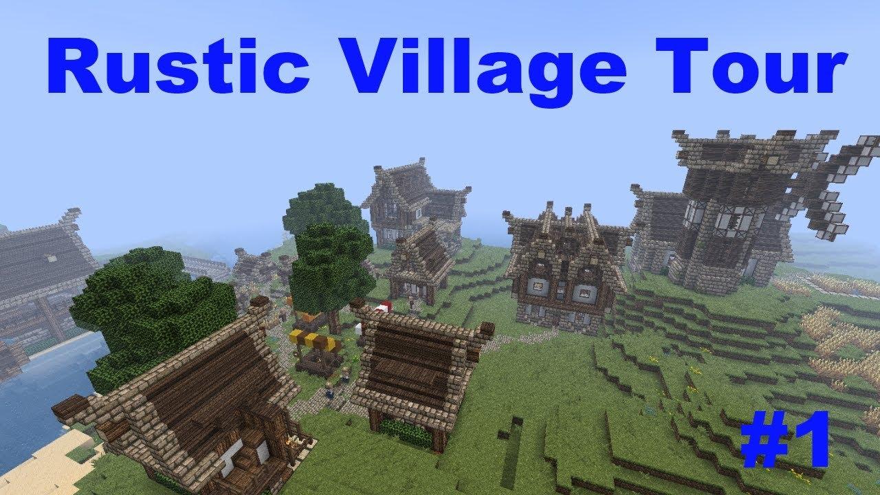 Minecraft Rustic Village Update 1 Youtube