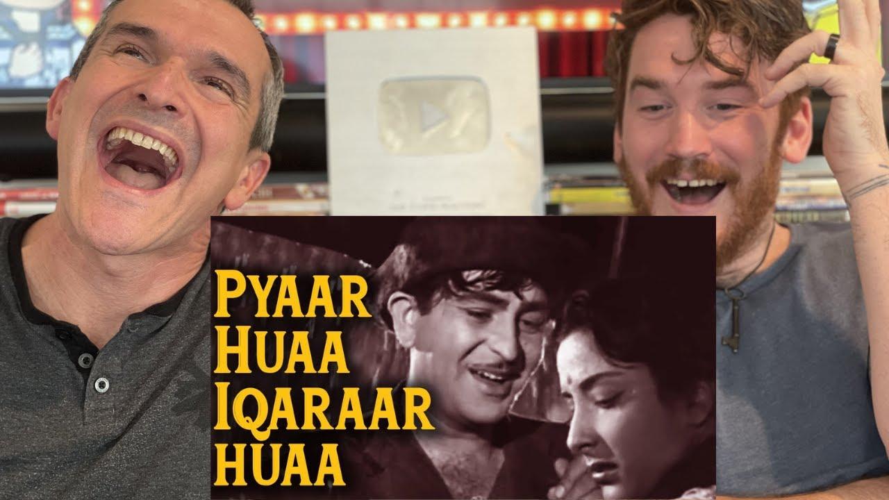 Shree 420 - Pyar Hua Ikrar Hua Hai Pyar Se - Manna Dey - Lata Mangeshkar REACTION!!