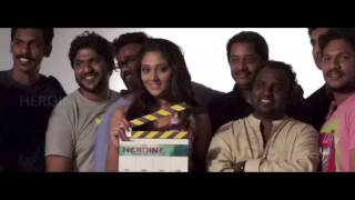 Heroine malayalam movie photoshot backstage