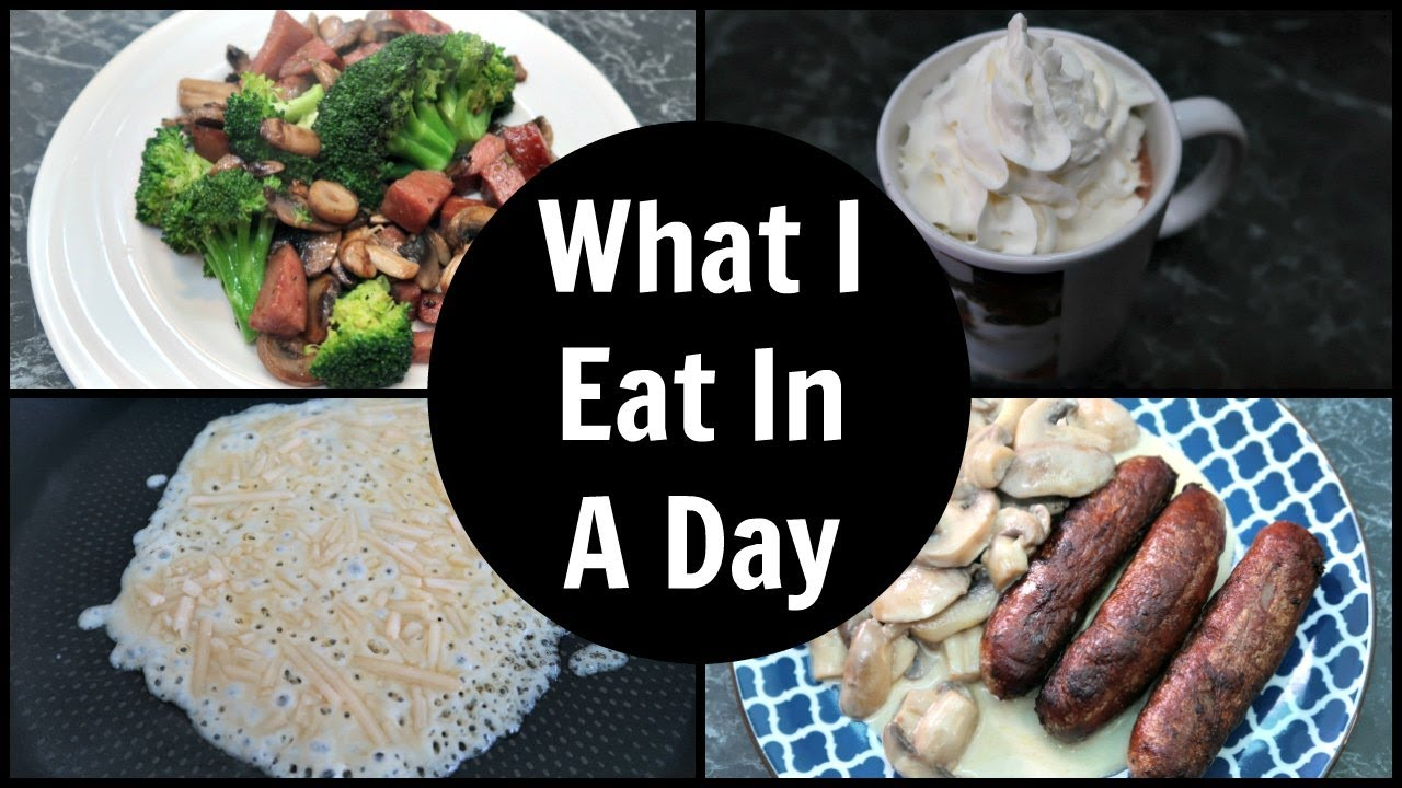 what to eat in a day keto diet