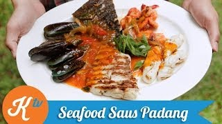 Resep Seafood Saus Padang (Seafood With Spicy Padang Sauce Recipe Video)