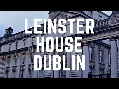 LEINSTER HOUSE - Dublin, Ireland - Its History, Tours and Architecture - The Parliament of Ireland