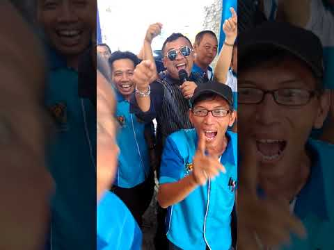 Edy Law Goyang PWI Kota Metro