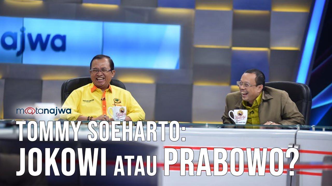 Mata Najwa Part 6 - Siapa Rindu Soeharto: Tommy Soeharto: Jokowi atau Prabowo?