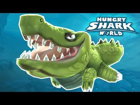 NEW CROCODILE BABY!!! Hungry Shark World   Ep 56 HD