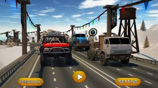 Highway Rivals: Drift Racing - Gameplay Android game - Highway racer simulator