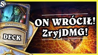 ON WRÓCIŁ! ŻryjDMG SHAMAN - AGGRO SHAMAN - Hearthstone Deck Std (The Boomsday Project)
