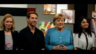 YouTube: Diese Internet-Stars interviewen Angela Merkel
