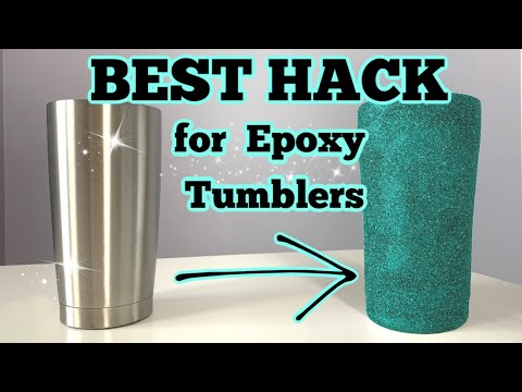 How to Prep a Tumbler for Epoxy and Glitter | DIY Epoxy Tumbler Series Start to Finish | Episode 1