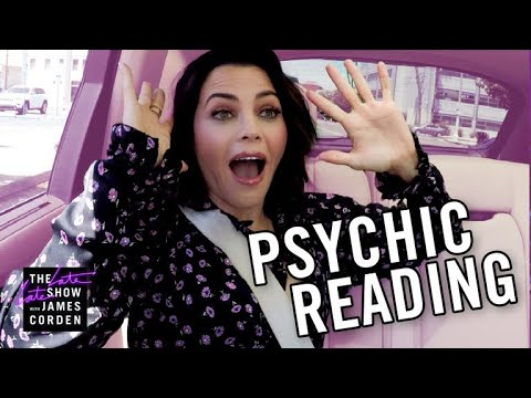 Jenna Dewan Gets a 'Seatbelt Psychic' Reading from Thomas John
