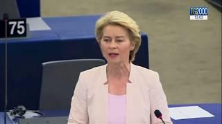 Ue, ore cruciali per Von Der Leyen alla Commissione europea