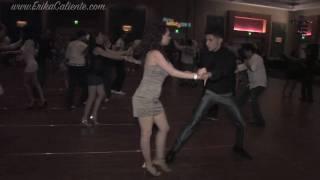 Erika Caliente & Nery Garcia social dance at the 2010 Orlando Salsa Congress