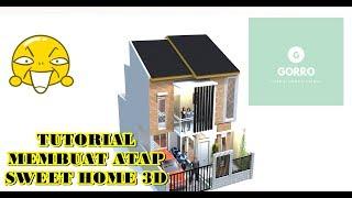 Tutorial Membuat Atap Pada Sweet Home 3d