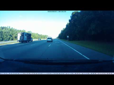 "North Carolina State Highway Patrol ""SHP-693"" Caught Speeding on I-40"