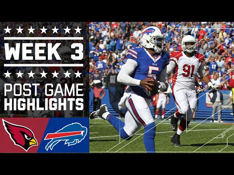 Cardinals vs. Bills | NFL Week 3 Game Highlights