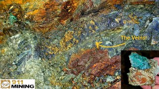 Amazing New High Grade Gold, Silver & Copper Mineral Deposit Found!
