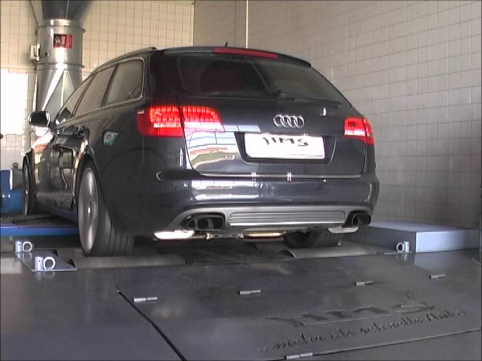 Audi S V Soundfile Mit HMS Performance Klappenabgasanlage YouTube - V10 audi s6