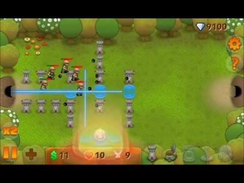 Gameplay - Cute World defense - Windows Phone