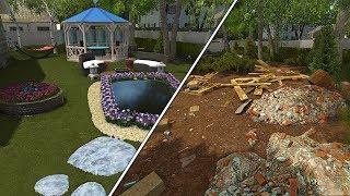 Satisfying Garden Transformation - Garden Flipper (House Flipper DLC)