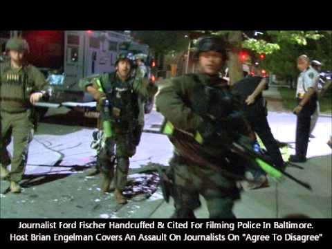 1st Amendment Under Attack As Journalist Ford Fischer Is Arrested In Baltimore For Filming.