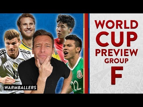 MY UPDATED WORLD CUP PREVIEW!!! - GROUP F