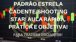 Baixar PADRÃO ESTRELA CADENTE/SHOOTING STAR - AULA PRÁTICA, RÁPIDA E OBJETIVA - CARLOS CARVALHO TRADER