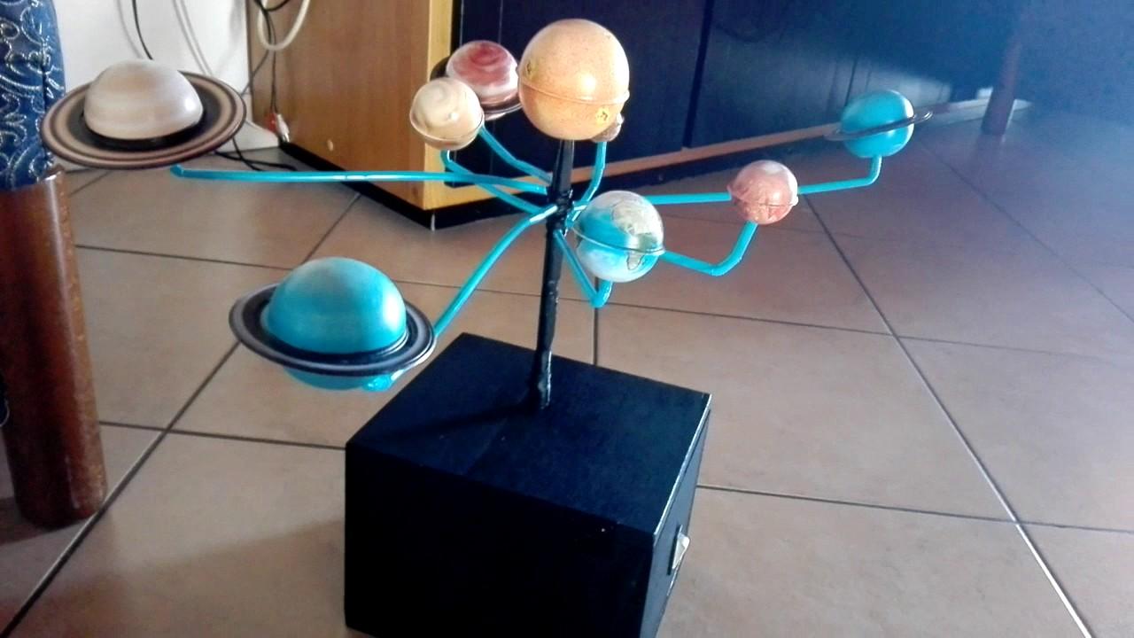 Modellino sistema solare youtube - Sistema di aerazione per casa ...