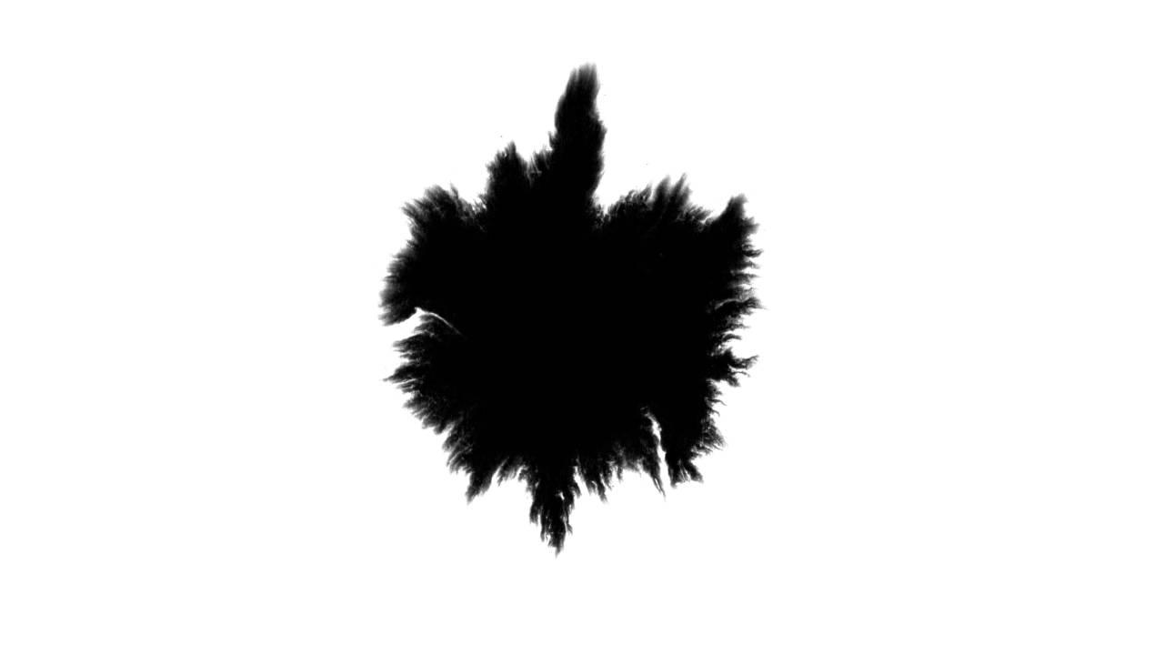 Ink Blot 1 (Free download) [4K]   FunnyCat TV