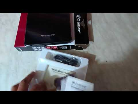 Transcend DVD±RW TS8XDVDS-K External USB 2.0 Black Retail