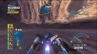 Quantum Redshift Gameplay - Silver Rock Canyon
