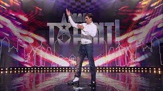 Miroslav zatańczył na castingu jak Michael Jackson! Był lepszy od króla popu? [Mam Talent!]