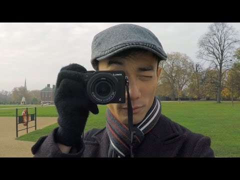 Panasonic LX100 Hands-on Review feat. Lok in London