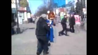 Disrespectful Russian Gets Taken Down By Tony The Tiger Judo Style!