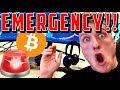 EMERGENCY!!!!!!!!! BITCOIN IS DOING IT!!!!!!!!!!!!