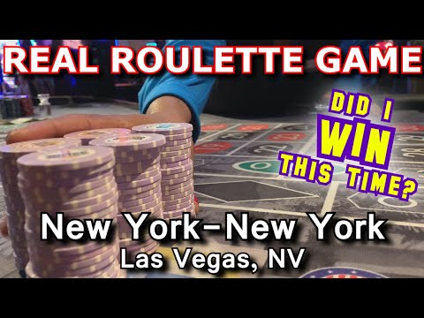 UP AND DOWN GAME! - Live Roulette Game #23 - New York-New York, Las Vegas, NV - Inside The Casino
