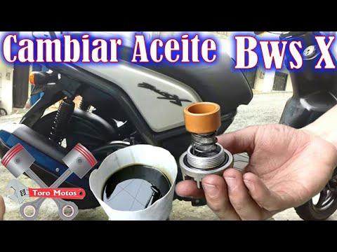 como cambiar aceite del motor BWS 125 X   Yamaha bws x   ToroMotos