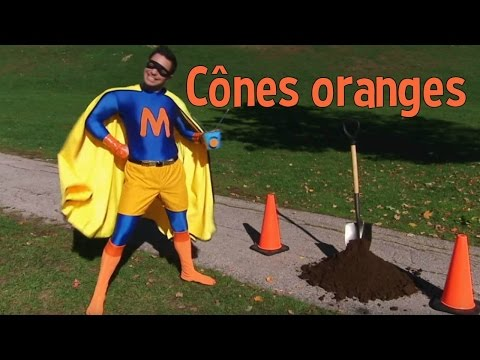 Super Mini à la rescousse : Cônes oranges